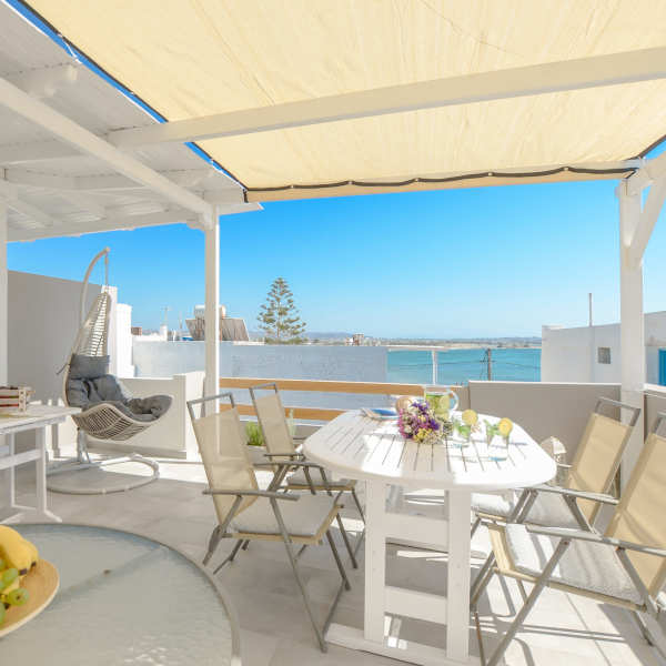 roof terrace panormos hotel naxos gallery